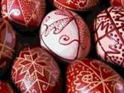 Nagypénteki tojásfestés