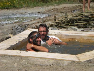 Hagyományos Sós Iszap Fürdő A Sószorosban